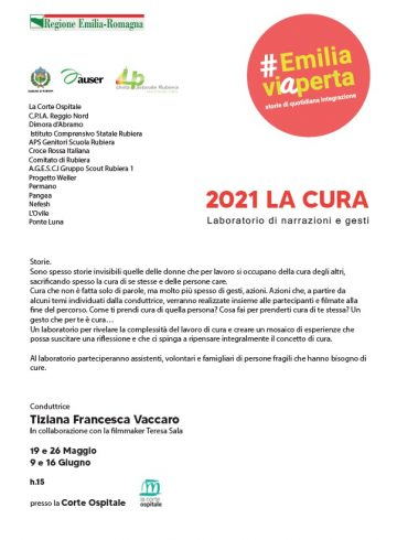 Leggi: «Prosegue il progetto #emiliaviAperta, edizione 2021,…»