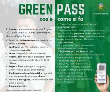 Leggi: «Nuove misure Green Pass, nuove regole…»